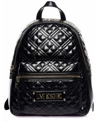 Atterley Quilted Backpack - Black