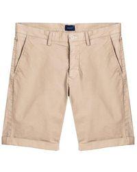 MMX Gant Desert Sand Sunfaded Shorts - Natural