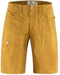 Fjallraven Fjallraven Vardag Lite Shorts Acorn - Yellow