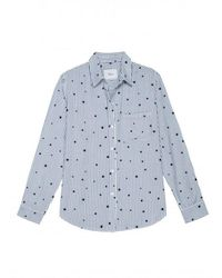 Rails Rocsi Flock Star Stripe Shirt Colour: Blue