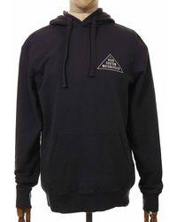 Deus Ex Machina Roza Hooded Sweatshirt - Phantom Colour: Phantom - Black