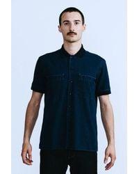 Homecore John Fernie Shirt - Navy - Blue