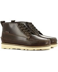 G.H. Bass & Co. Gh Bass & Co Camp Moc Ranger Pull Up- Chocolate - Brown