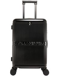 Karl Lagerfeld Rigid Trolley - Black
