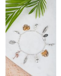 Amanda Coleman - Tropical Charm Bracelet - Lyst
