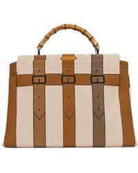 Roberta Di Camerino Women's C04028y62r33 Multicolor Cotton Handbag - Brown