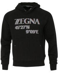 Z Zegna - Hoodie (black) - Lyst