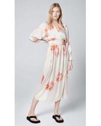Smythe Wrap Dress Tie Dye - Multicolor