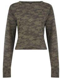 Lilybod Suzy Olive Haze Sweatshirt - Green