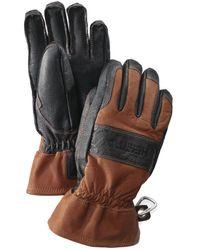 Hestra Falt Guide Glove Brown / Black