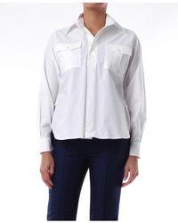 Plan C Shirts Blouses Women White