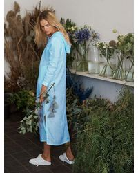 Nrby Sophie Hooded Maxi Dress - Blue
