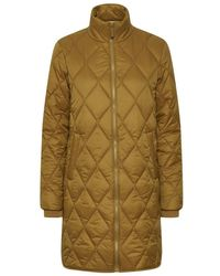 Part Two Olilase Camel Padded Coat - Multicolor