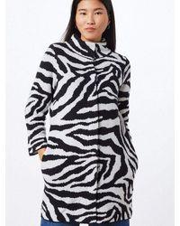 Monari Coat | Zebra - Multicolour