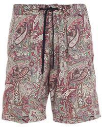 PT01 Cbbsw7z20sumap770680 Colour Other Materials Shorts - Multicolour