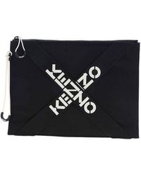 KENZO Active Large Pouch - Black