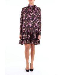 Isabelle Blanche Black Fantasy Dress - Multicolour