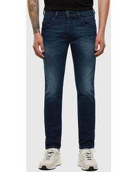 DIESEL D-bazer 009er Ultrasoft Tapered Jeans - Blue