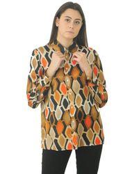 Jucca Shirt Patterned Argyle - Black