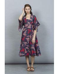 Tallulah & Hope Barbara Midi Dress Sandylane Blue