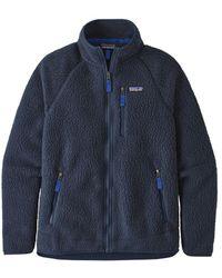 Patagonia Retro Pile Fleece Jacket New Navy - Blue