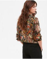 Hartford - Coree Indian Print Shirt - Lyst