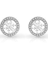 Guess Tropical Sun Earrings - Metallic