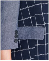 I'm Isola Marras - Checked Blazer In Blue - Lyst