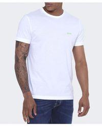 BOSS Green Boss Regular Fit Tee T-shirt - Blue