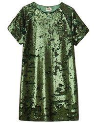 Twist & Tango Twist And Tango Kim Sequin Dress - Dark - Green