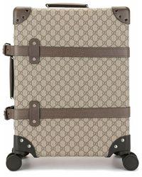 Gucci Men's 5336189vefw8358 Brown Polyurethane Trolley