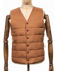Didriksons Didriksons Vidar Usx Vest - Almond Colour: Almond - Brown