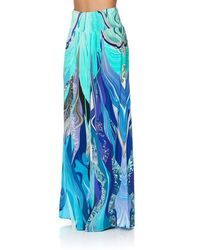 Camilla Women's Shirred Waist Wide Leg Pant 2389 - Pink