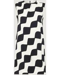 Marella Art.365 Pec Dress , Colour:black Cream
