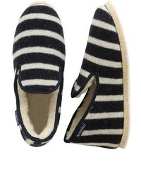 Armor Lux Armor-lux Slippers - Navy/natural - Blue