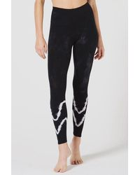 Electric and Rose Sunset legging - Onyx/cloud - Black