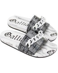 John Galliano Sandals - White