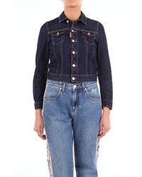 DSquared² Jackets Denim Jackets Women Dark Jeans - Blue