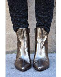 Vagabond - Whitney Bronze Boots - Lyst