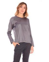 Shirt C-zero Lgirocollo Basic - Gray