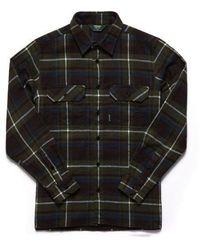 Sebago Swan L/s Check Shirt Check - Green