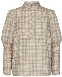 co'couture Cocouture Rowland Check Shirt - Natural