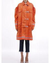 Calvin Klein Jacket Fireman Orange