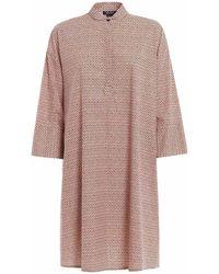 Woolrich Women's Wwabi0401ut15105401 Pink Cotton Dress
