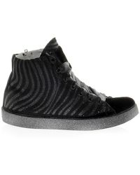 Beverly Hills Polo Club Fabric Trainers - Black