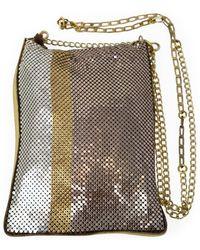 Laura B Lyndee Striped Disco Bag /dore - Pink