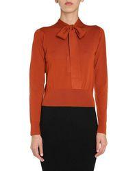 Dolce & Gabbana Wool Sweater - Metallic