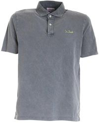 Mc2 Saint Barth Brighton Polo Shirt - Grey