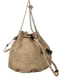 Borbonese Bourbonnais Small Bucket Bag - Brown