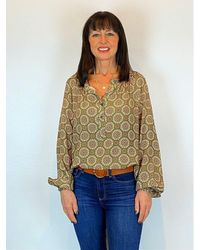 B.Young Bxgill Blouse - Green